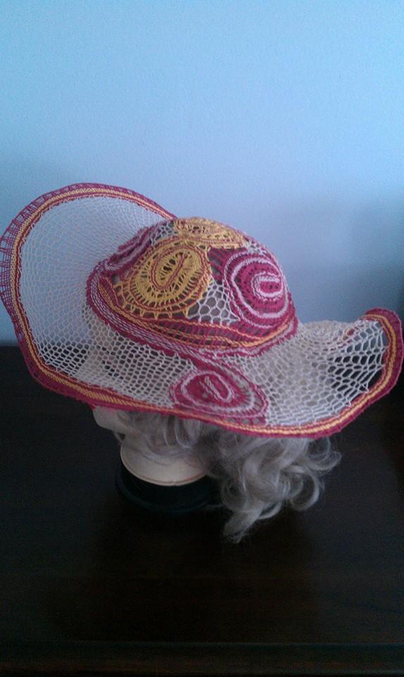 Daniela Banatova Lace Gallery Art five lace hat