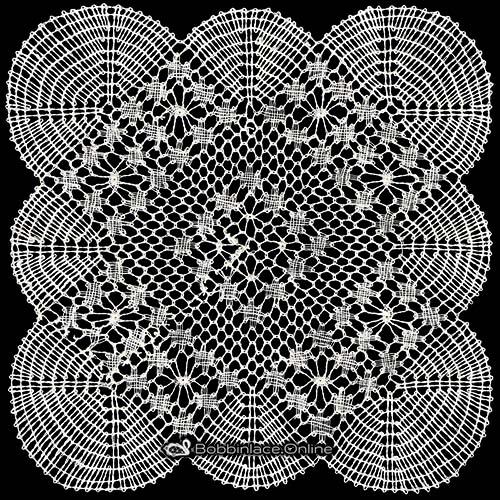 Bobbin Lace Tradition Lace Pattern