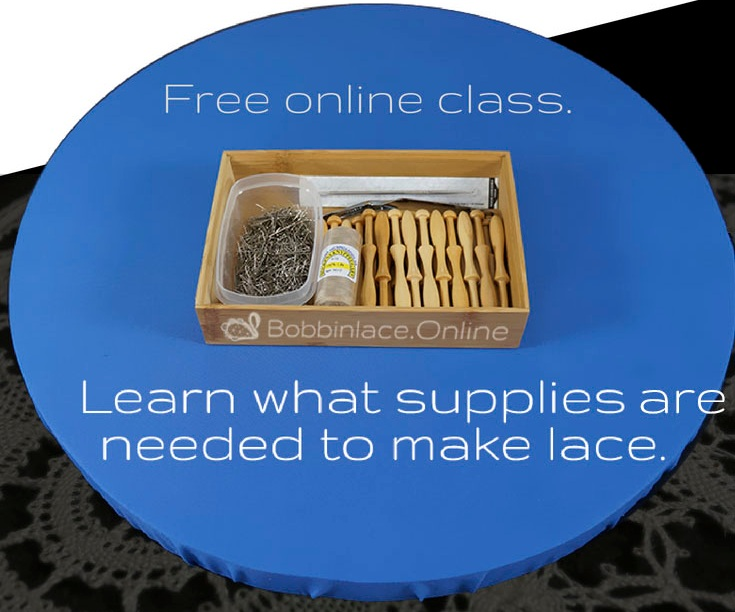New to lace making? - Learn About Bobbinlace Supplies in Our Free Online Course.
