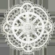 Bobbin Lace Compass