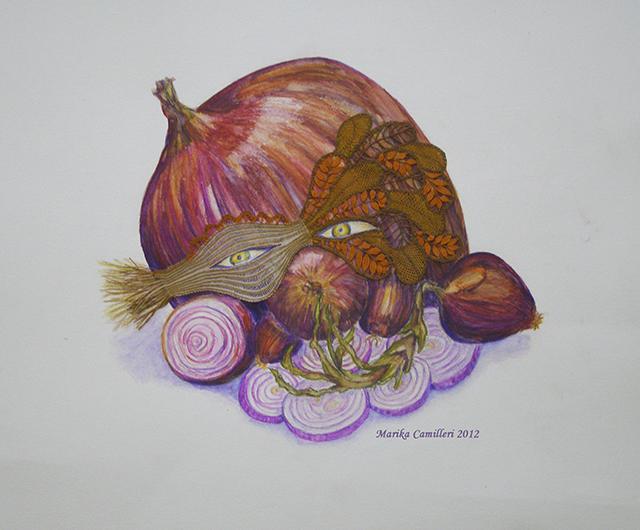 Marika Camilleri - Onion Mask 2012