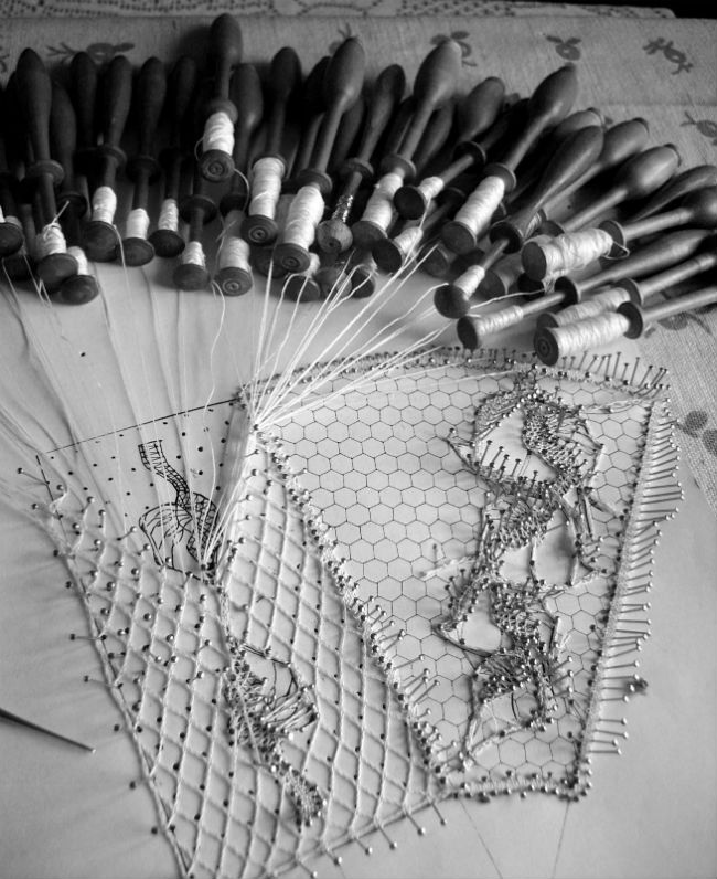 Bobbin Lace Board Photo by Malgorzata S Bobbin Lace .jpg