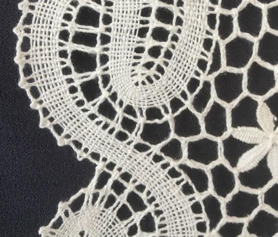 White Polish Linen Thread