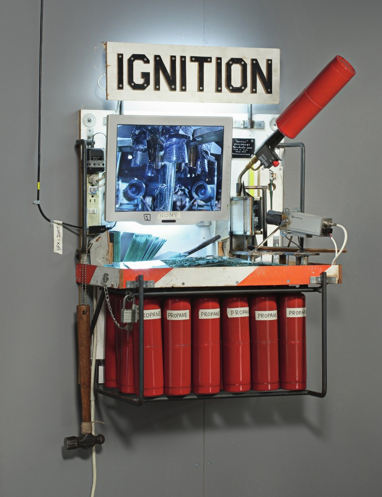 Ignition, 2007-2012 Courtesy Gagosian Gallery, photo by Genevieve Hanson