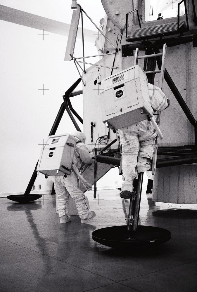 Lunar excursion, Space Program, 2007  Courtesy Gagosian Gallery, photos by Joshua White