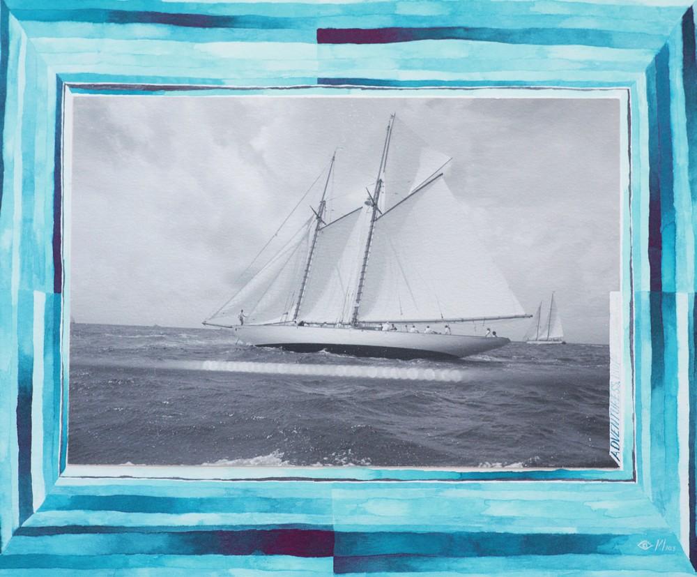 Adventuress, Antigua Classic, 2013, by Max Imrie