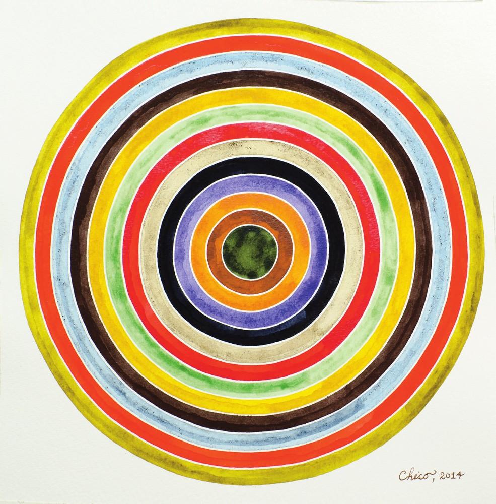 Color Portrait of a Friend, 2014, by Julian Imrie