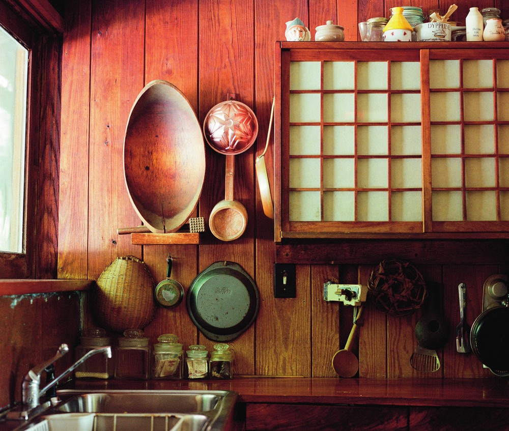 Nakashima's kitchen.