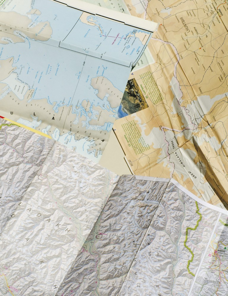 maps from Hawk's most recent travels