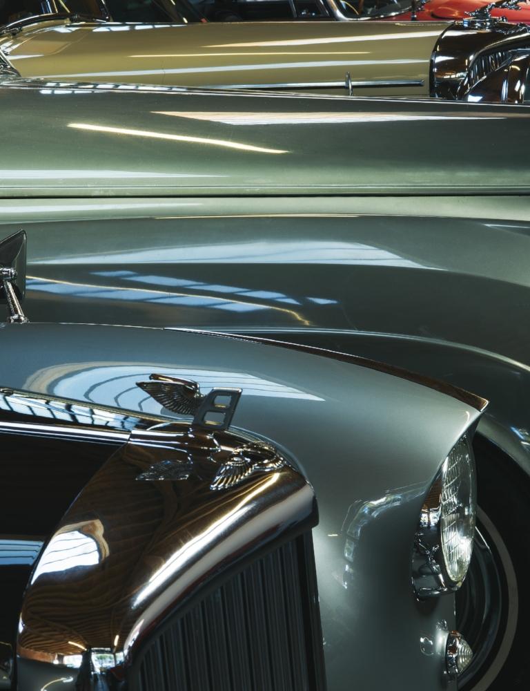 1965 BENTLEY S3 Saloon  1956 BENTLEY S1 Hooper,  1959 JAGUAR XK150S Roadster  1965 ROLLS-ROYCE Silver Cloud II