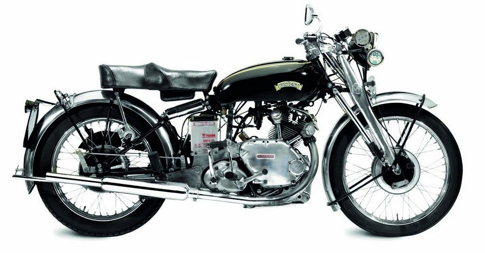 1950 Vincent 499cc Comet Series C Out-performing just about every other vehicle of their era, Philip Vincent's incomparable machines bristled with innovative features like adjustable brake pedals, footrests, seat height and gear-change levers.