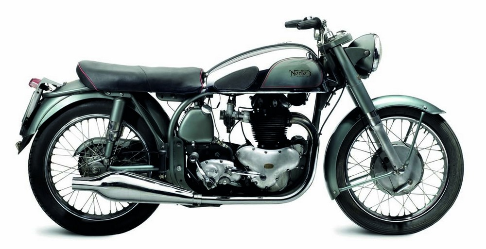 1954 Norton 500cc Dominator 88 The Dominator 88 was the first production Norton roadster to feature a light-weight, race-proven chassis. Updated year by year, by the decade's end the Domina-tor had received an alloy cylinder head, full-width hubs, and welded rear subframe.