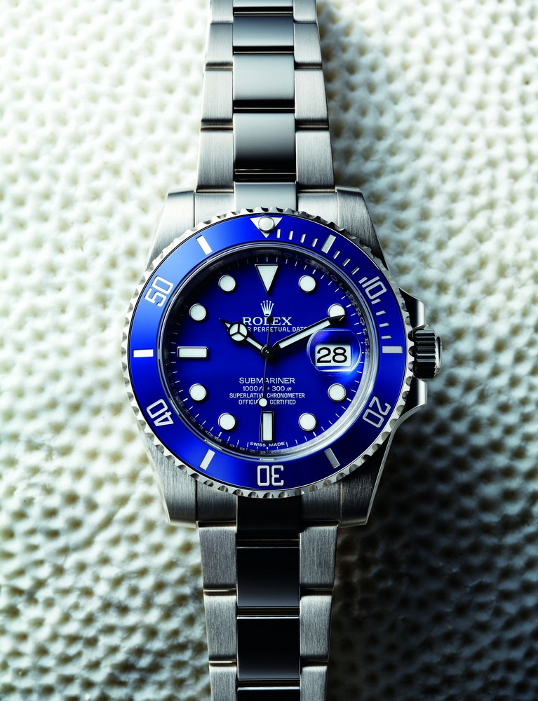 ROLEX SUBMARINER DATE Ref.: 116619LB. 2015. Oyster. White gold. 40 mm.