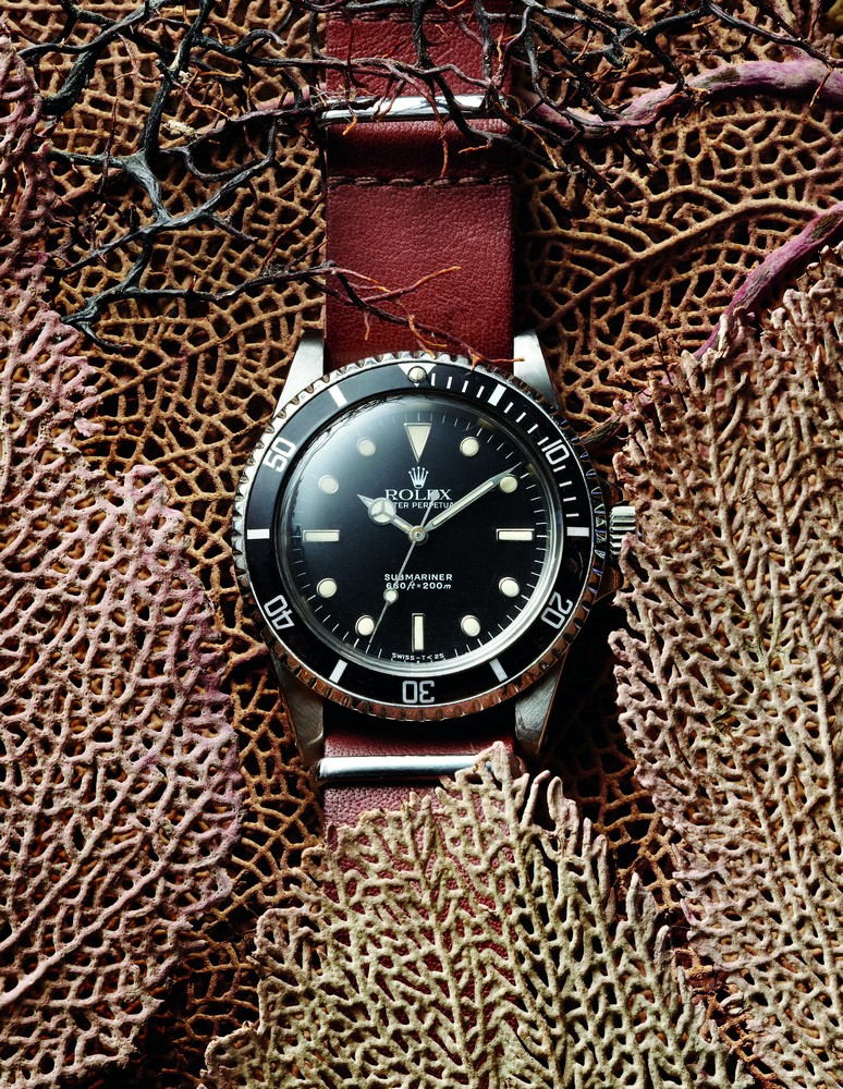VINTAGE ROLEX SUBMARINER Ref.: 5513. 1989.  Oyster. Steel. 40 mm. available at manoftheworld.com
