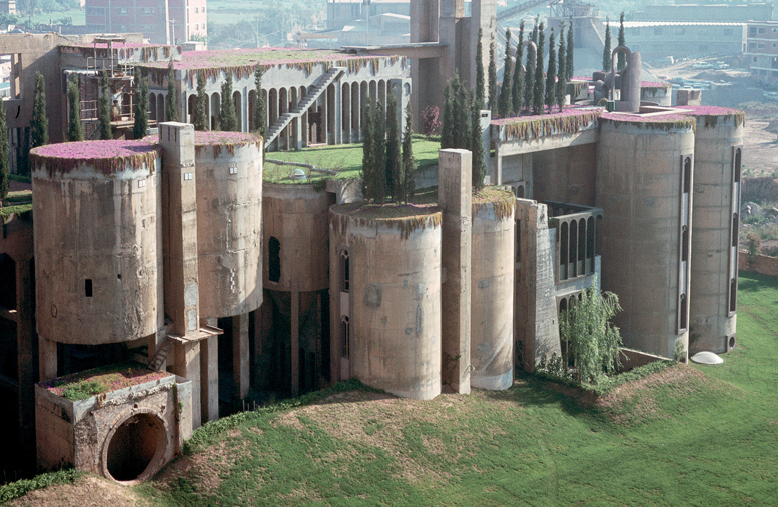 La Fábrica, carved from the meticulously demolished remains of a decommissioned cement plant outside Barcelona, feels at once modern and ancient.