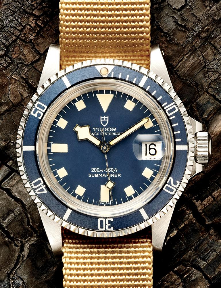 Tudor Snowflake Submariner, Reference 94110 - 1970s  Available through manoftheworld.com