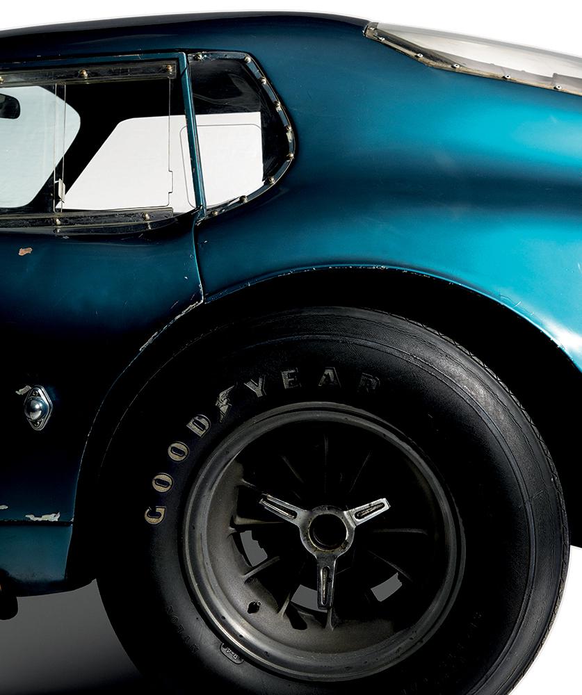 The original 1964 Shelby Cobra Daytona Coupe, aka CSX2287, photographed at the Simeone Foundation Automotive Museum in Philadelphia, December 2014.