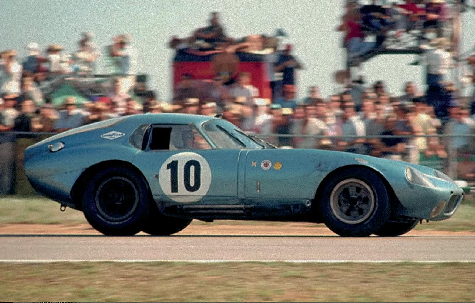 CSX2287 turns heads at Daytona, 1964.