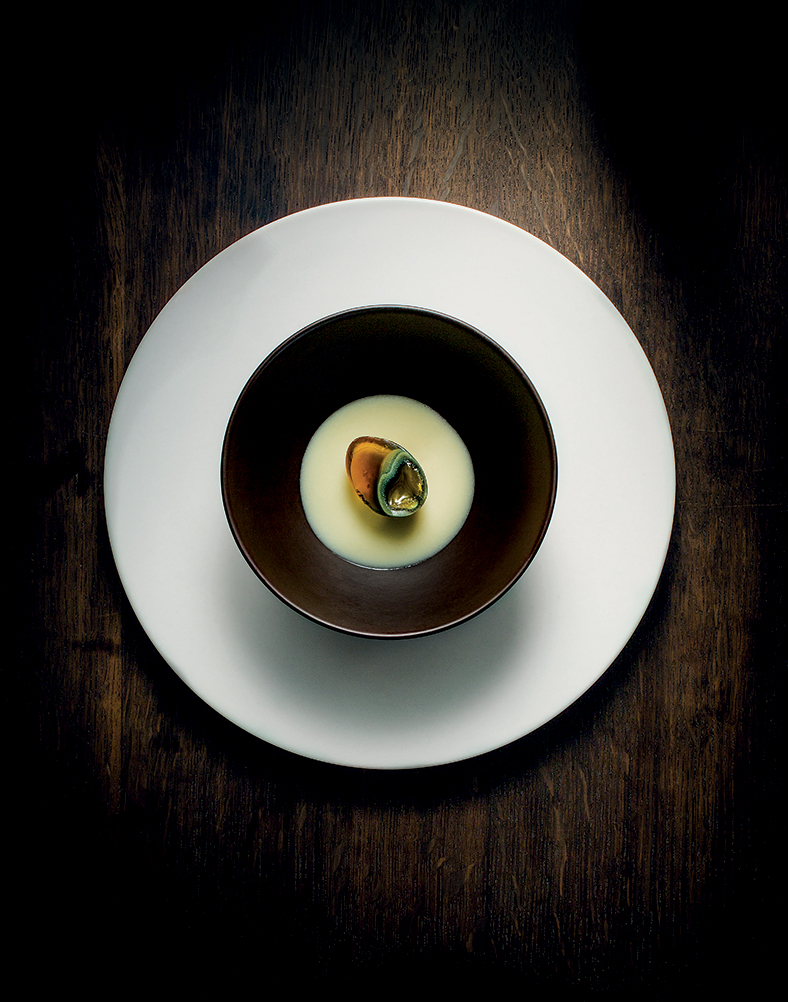 Thousand-Year-Old Quail Egg, Potage, Ginger