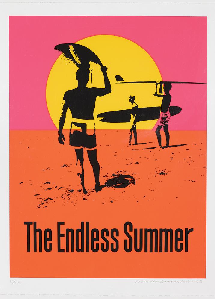 John Van Hamersveld The Endless Summer, 2003 Hand-pulled limited edition silkscreen