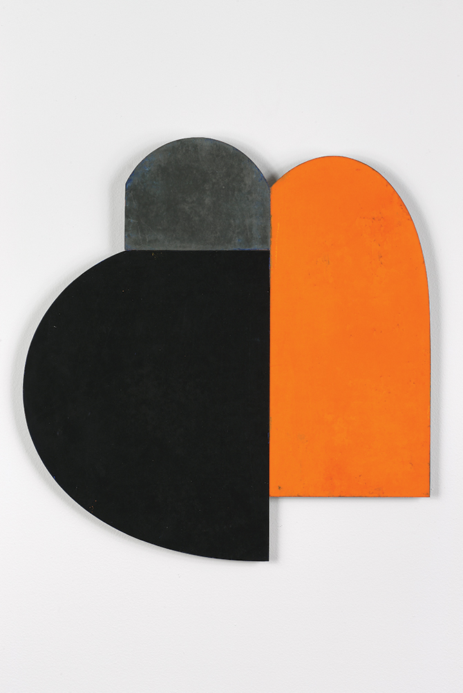 Charles Arnoldi Untittled ( Z Series), 2005 Oil-based ink and acrylic on plastic panel Oil on aluminum