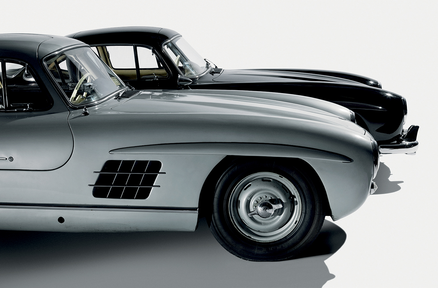 1956 MERCEDES-BENZ 300SL GULLWING COUPE Photographed at the Simeone Foundation Automotive Museum, December 2014