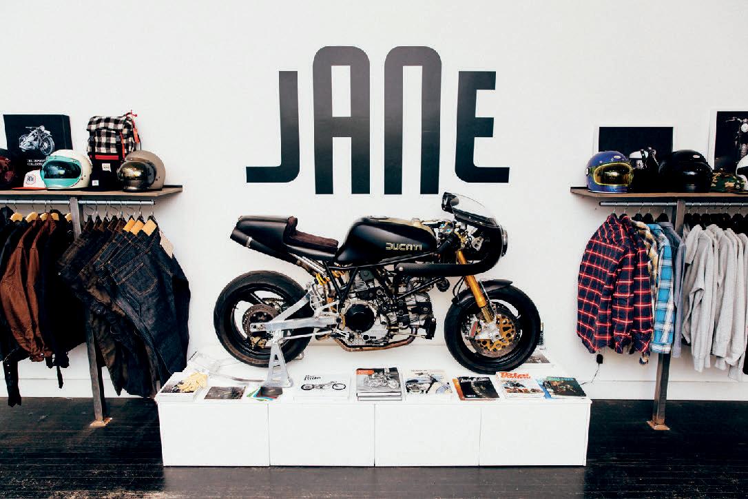Courtesy of JANE MOTORCYCLES
