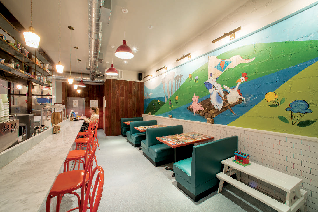 AMPLE HILLS CREAMERY Photography by IVAN BIDEAC