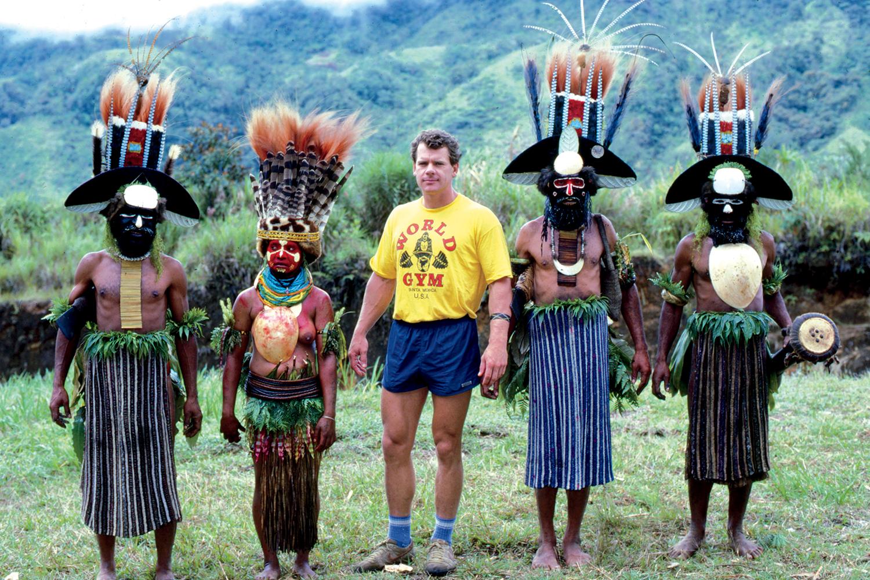 Family affair, Highlands, Papua New Guinea.