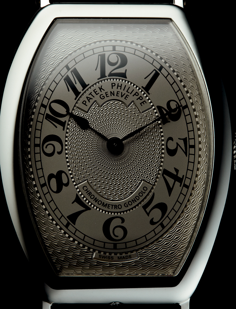 "Patek Philippe 5098 ""Gondolo Chronometro"" in platinum, 2005, available through Man of the World"