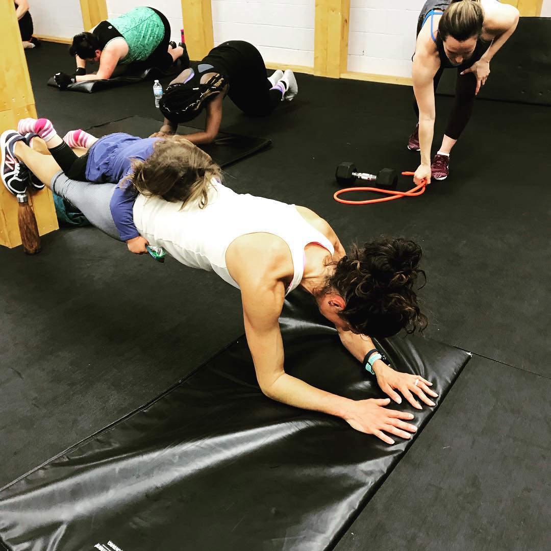 Workout with kids Edmonton