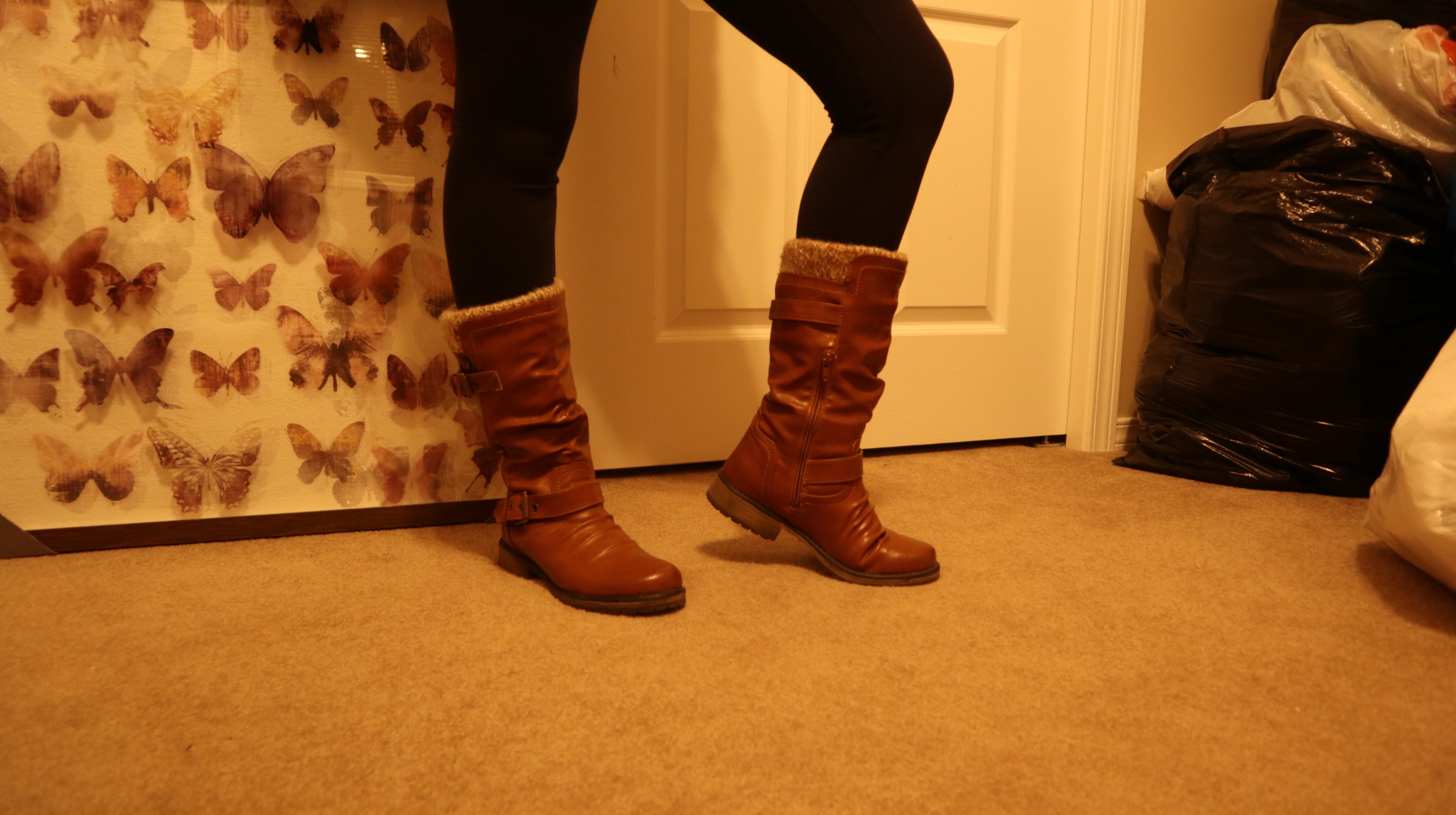 Boots I bought from a thrift store!
