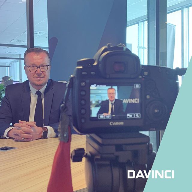 Jan Lamber is shooting promo video for elections to the European Parliament #euparliament #elections #businesscareabouteurope #govote