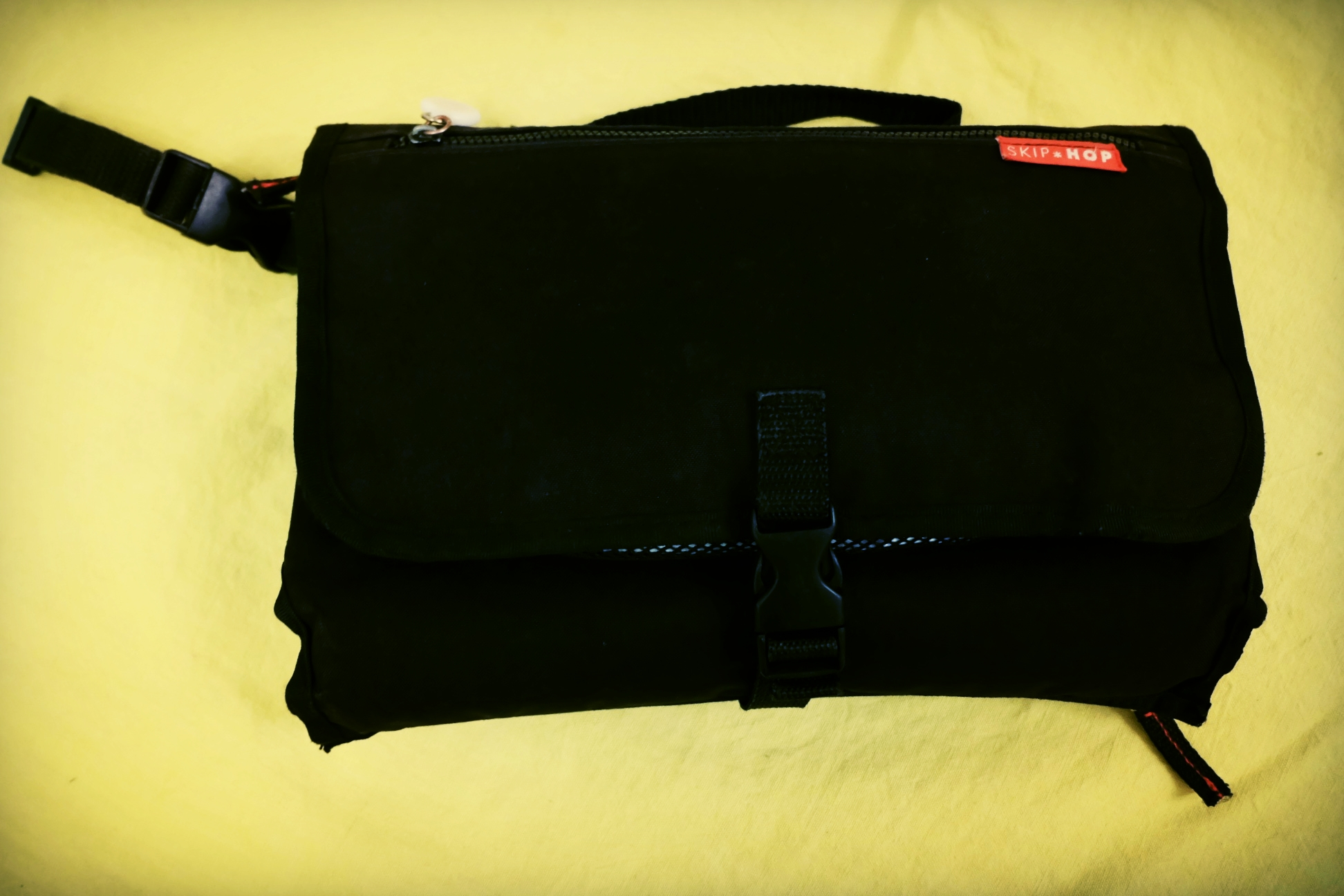 Changing bag ergonomics