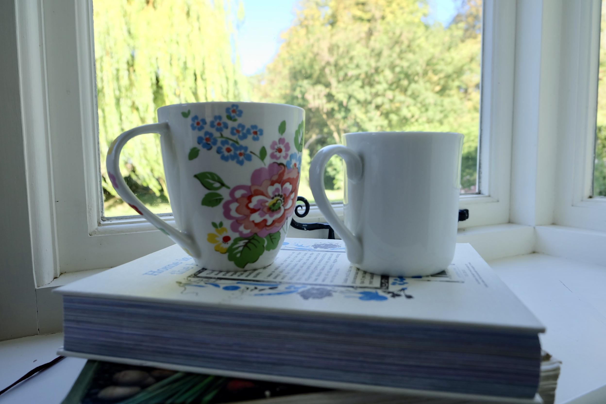 Mug size ergonomics