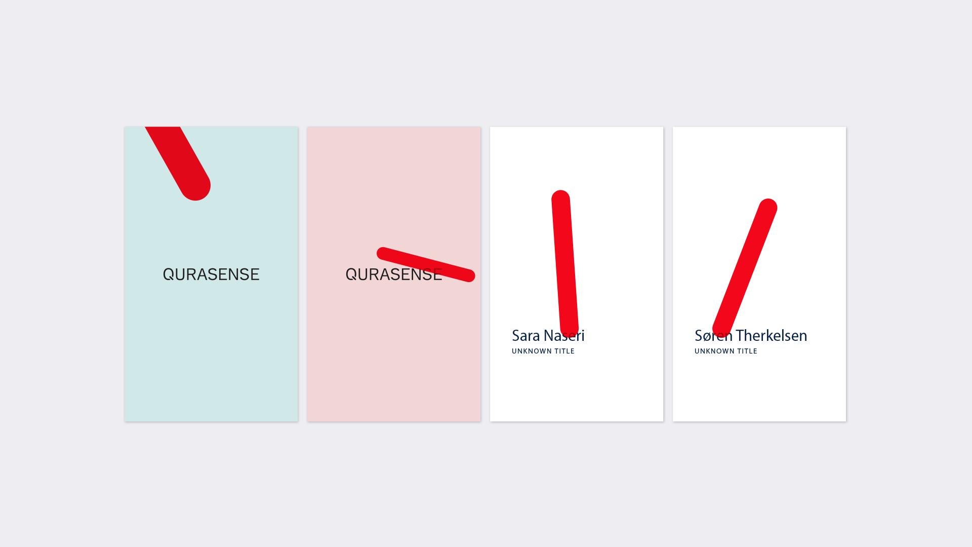 Branddesign for a biotech company