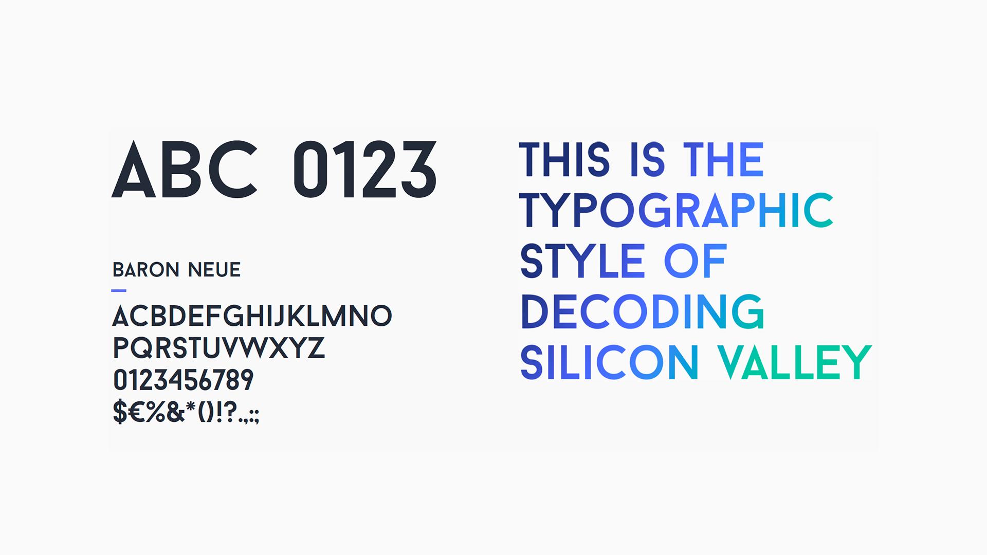 Typographic style