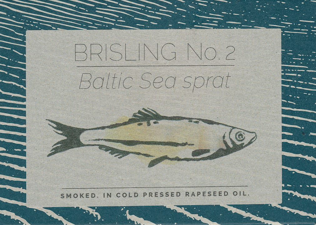 Baltic Sea sprat no. 2. Smoked. In cold pressed rapeseed oil
