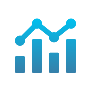 Financial Trends - Condense huge amounts of data into a single visual dashboard, giving you an overview of your company's financial health - all at one glance.