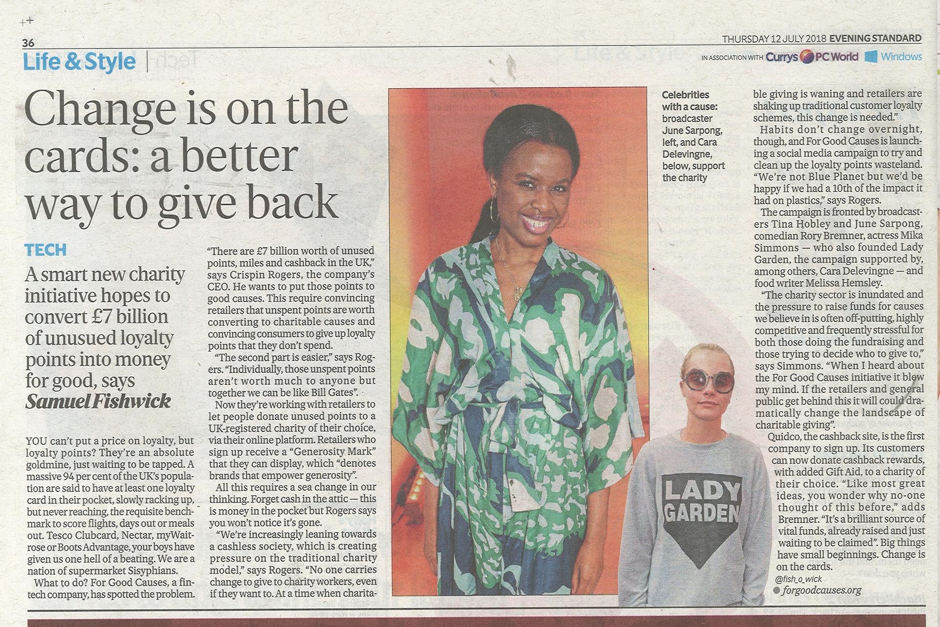 Copy of Evening Standard