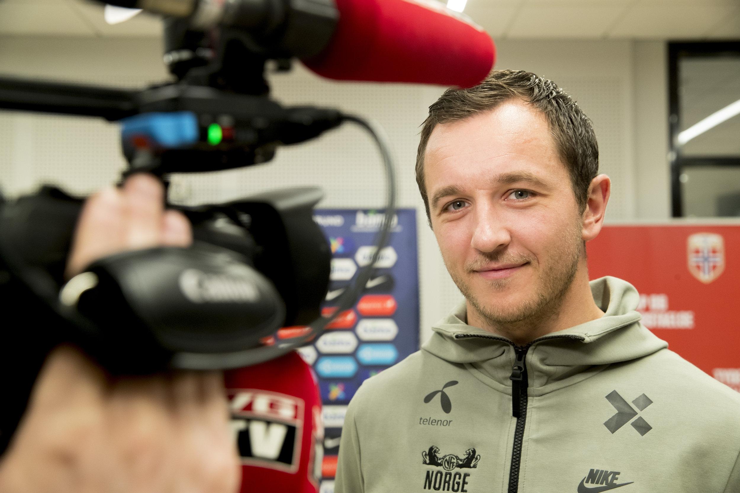 Even Hovland er ny spiller i troppen. Foto: Vidar Ruud / NTB Scanpix