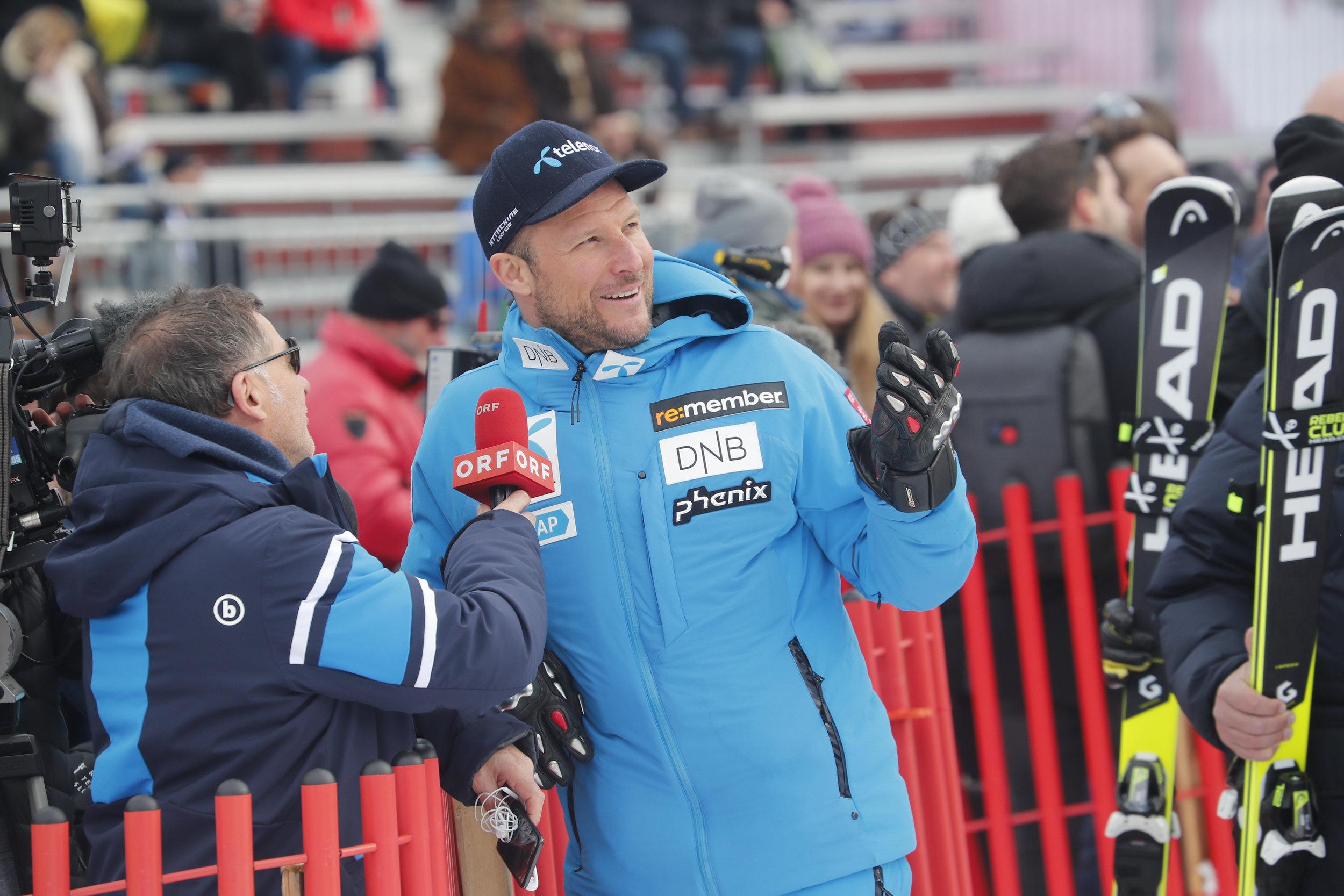 Aksel Lund Svindal kjører sine to siste renn i Åre og vil nok få litt oppmerksomhet. FOTO: Cornelius Poppe/NTB scanpix