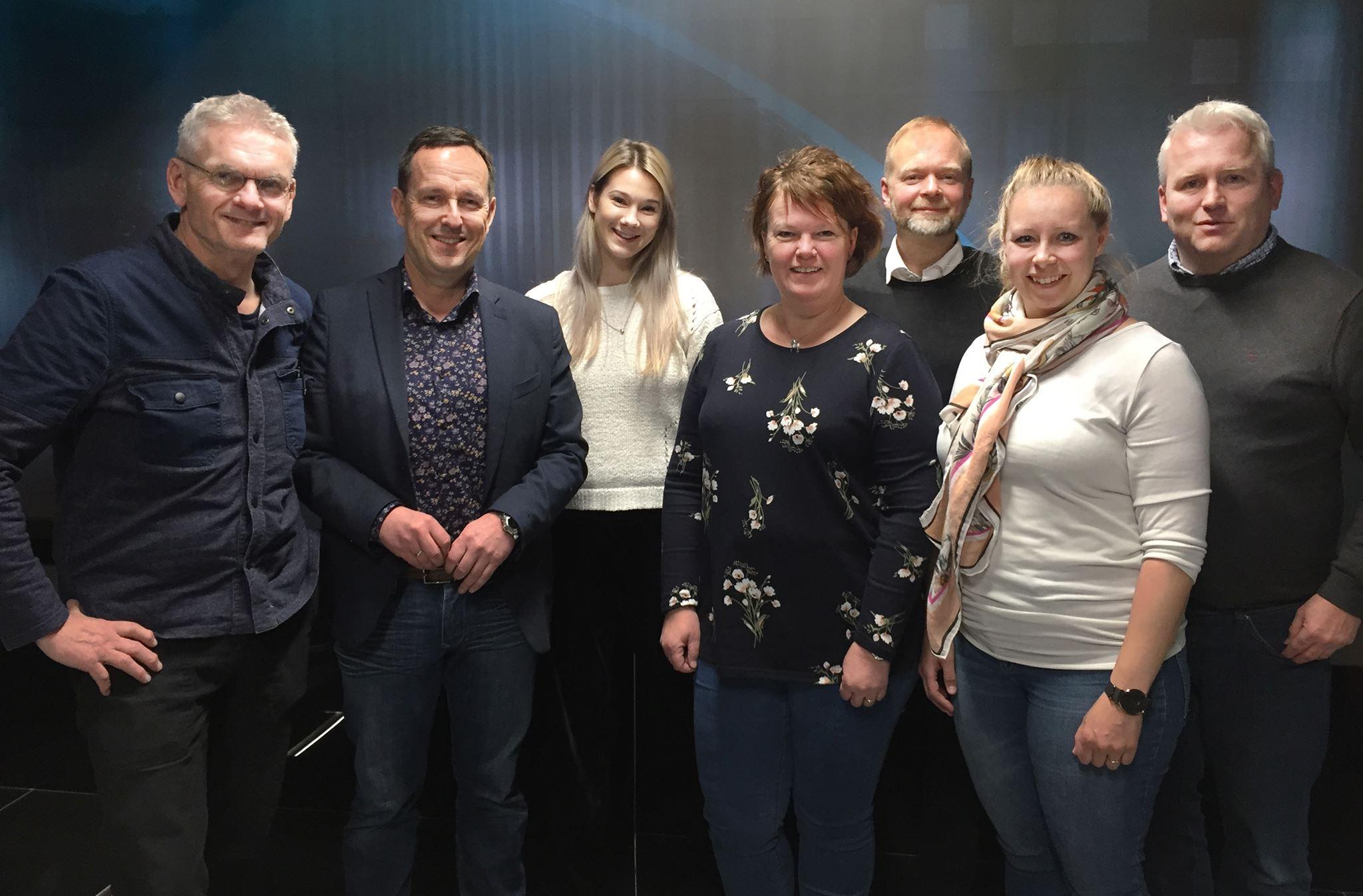 Styret i Norske Sportsjournalisters Forbund for 2018/2019.
