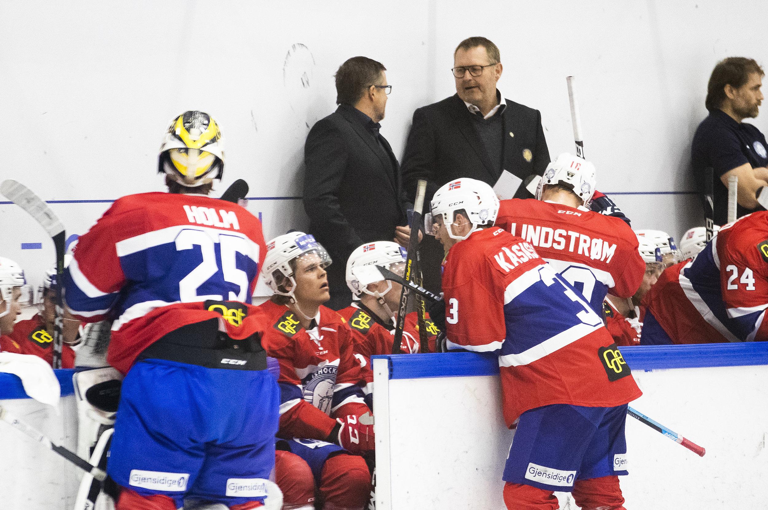 Petter Thoresen har plukket ut dem som skal spille VM for Norge. FOTO: Berit Roald/NTB scanpix