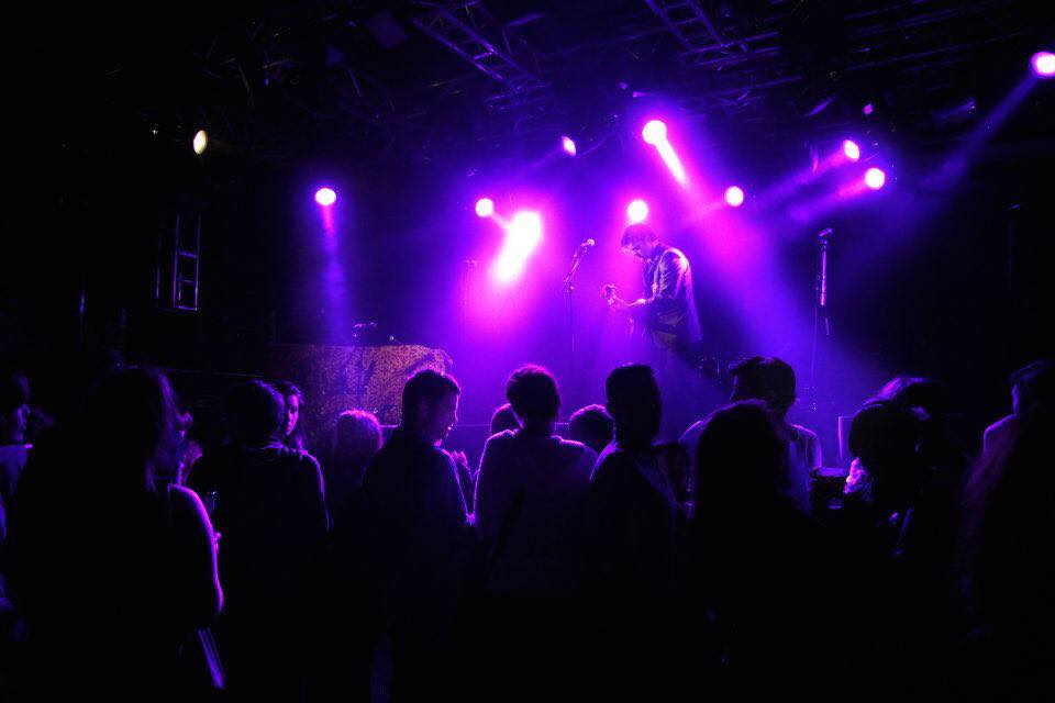 Tragic O'Hara live in Edinburgh Songwriter supporting Pete Doherty