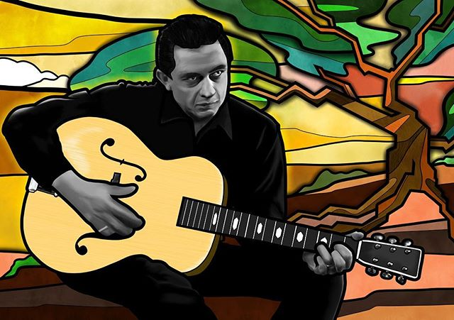This one will be going up on my website this week as a limited Edition print. Follow me to know exactly when it goes up. What do you think @procreate worth a share? #stainedglass #johnnycash #art #illustration #graffiti #draw #graffiti #picture #artist #sketch #sketchbook #paper #pen #mural #instaart #streetart #instagood #gallery #ink #creative #photooftheday #instaartist #procreate #graphics #artoftheday #digitalart #style #portrait #popart #design
