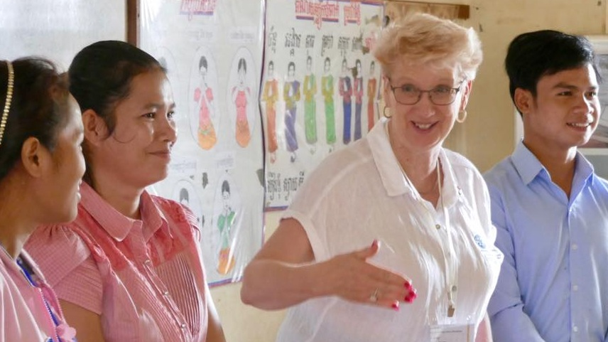 - Teacher TrainingWe have sent 4 Vocational Training Teams to Cambodia which involves 5 teachers spending 2 weeks training 80 Cambodian teachers in more modern teaching techniques.