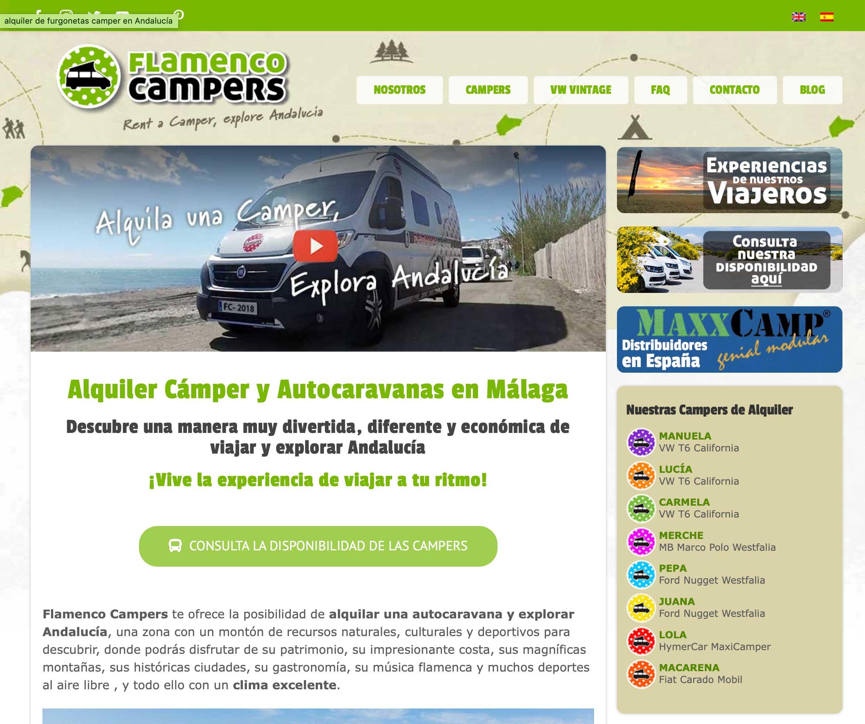 SPAIN - Flamenco Campers