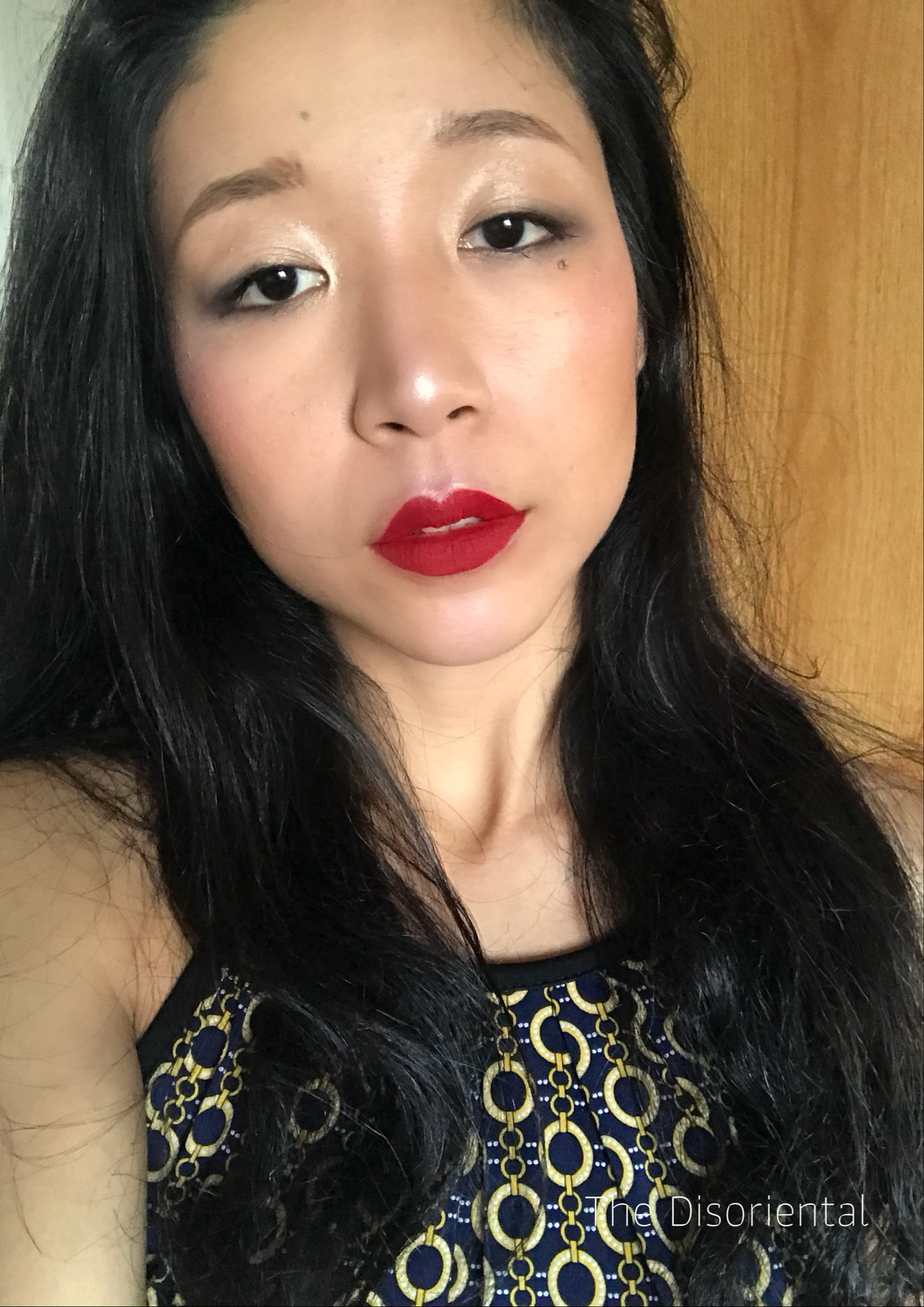 Stila's Liquid Lipstick in shade  Fiery