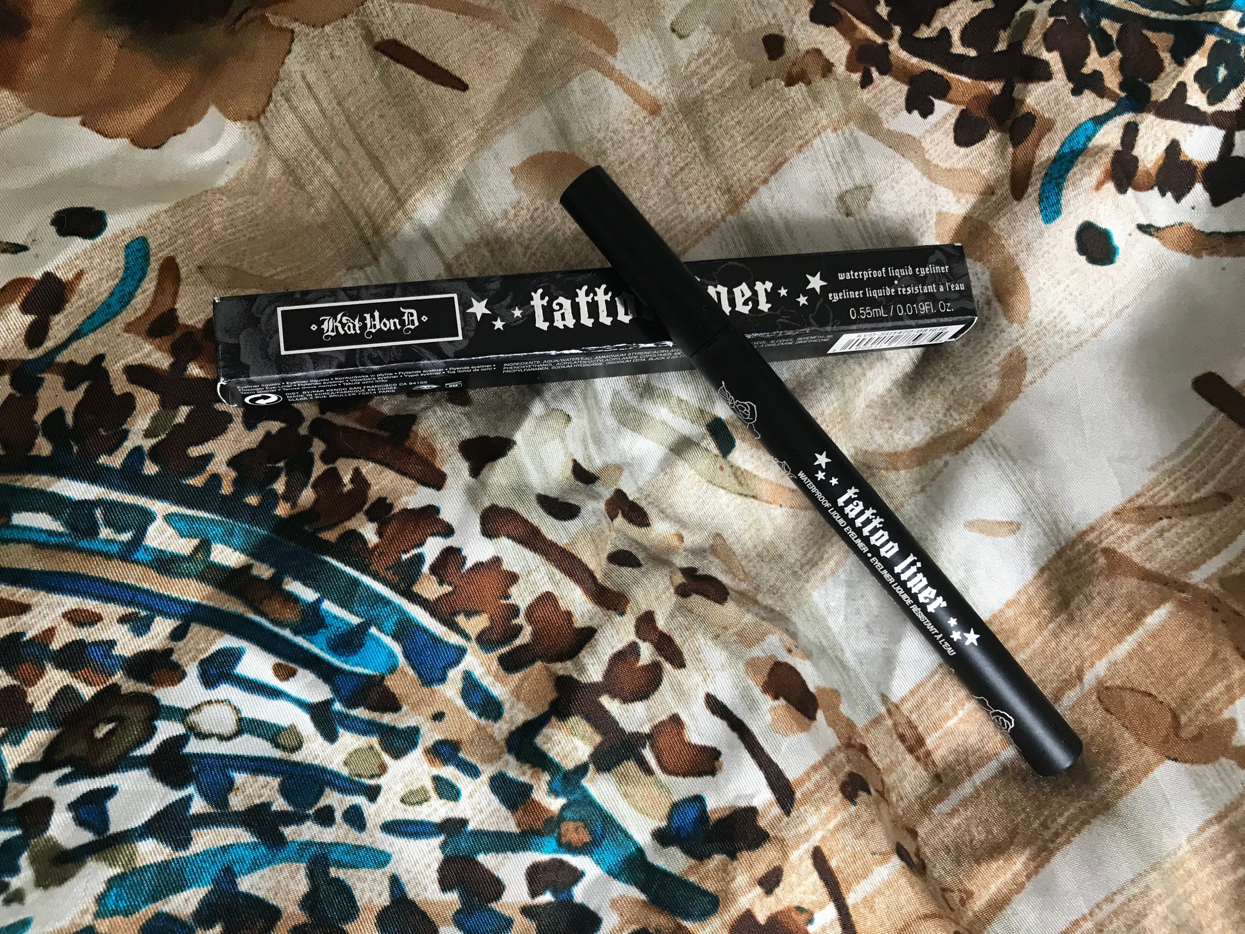 Something Borrowed: Kat Von D Tattoo Liner in shade Trooper Black
